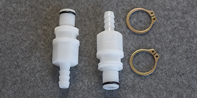 1/4 Quick Change Vacuum Fitting with Clip